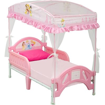 Delta Children's Products Disney Princess Toddler Bed with Canopy