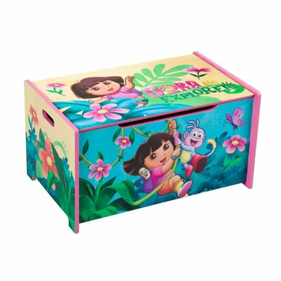 Delta Children's Products Nickelodeon Dora the Explorer Toy Box
