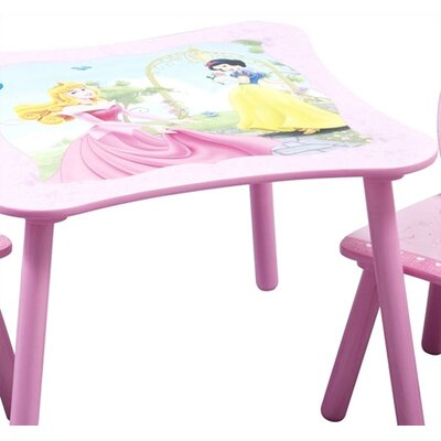 Delta Children Disney Princess Kids' 3 Piece Table and Chair Set