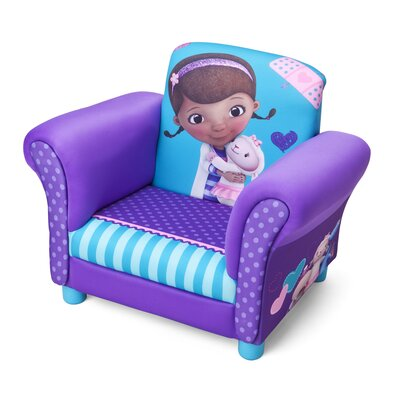 Delta Children Disney Doc McStuffins Kids Club Chair