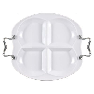Danico Cx Serving 4 Compartment Round Serving Tray