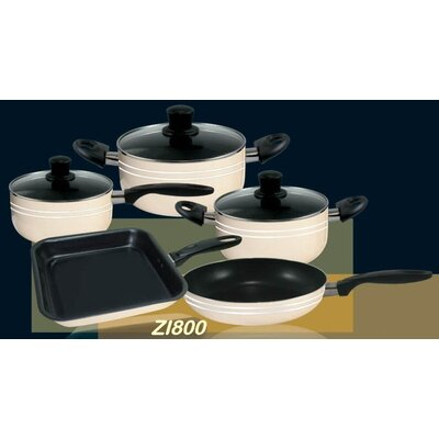 Danico 8 Piece Ivory Cook Set