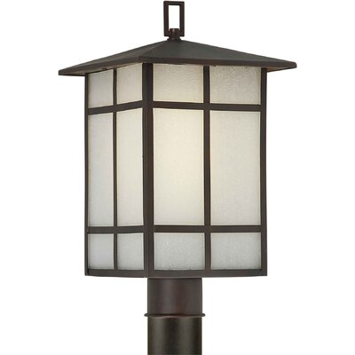 "Forte Lighting Outdoor 1 Light 18"" Post Lantern"