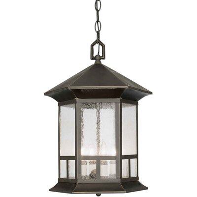 Forte Lighting Four Light Outdoor Pendant