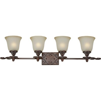Forte Lighting 4 Light Bath Vanity Light