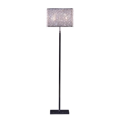 Artcraft Lighting Concentrix Two Light Floor Lamp in Chrome