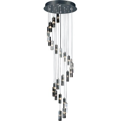 Artcraft Lighting Berkley 25 Light Crystal Chandelier