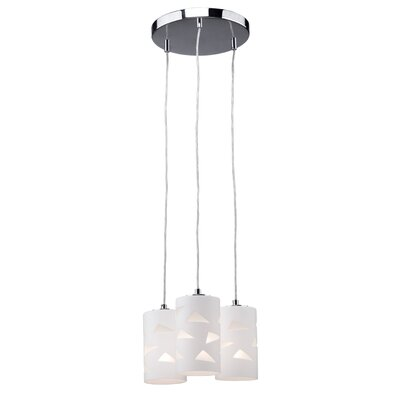 Artcraft Lighting White Plains 3 Light Chandelier