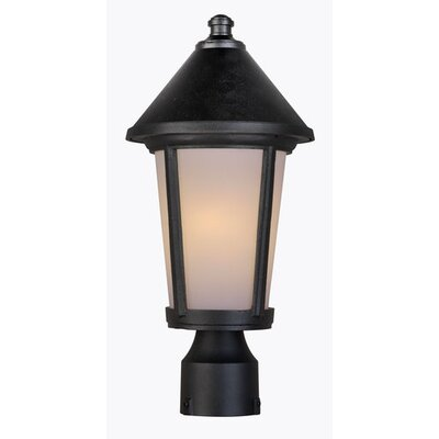Artcraft Lighting Malibu 1 Light Outdoor Post Lantern
