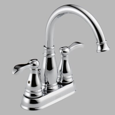 Porter Centerset Bathroom Faucet with Double Lever Handles - 25984LF