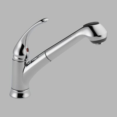 Delta Foundations Single Handle Single Hole Pull-Out Core-B Kitchen Faucet