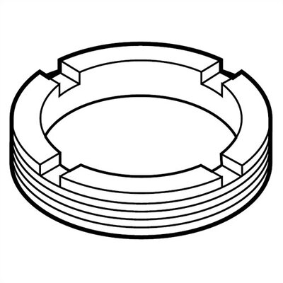 Delta Replacement Adjustable Ring for Single Handle Faucets