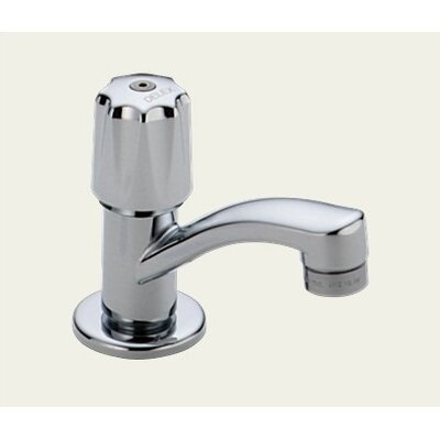 Delta Classic Single Hole Sink Faucet with Single Knob Handle