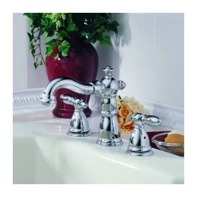 Delta Victorian Double Handle Deck Mount Roman Tub Faucet