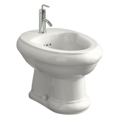 Kohler Revival Bidet with Single-Hole Faucet Drilling