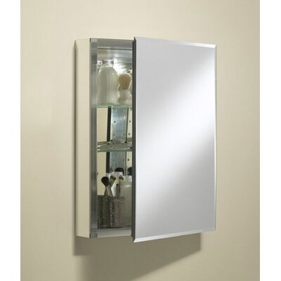 "Kohler 20"" x 26"" Single Door Aluminum Medicine Cabinet"