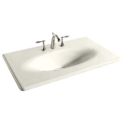 Integrated Bathroom Sink : Kohler Iron/Impressions 37