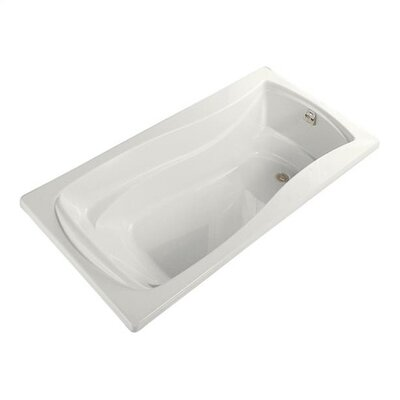 "Kohler Mariposa 72"" X 36"" Alcove Bath with Integral Tile Flange and Right-Hand Drain"