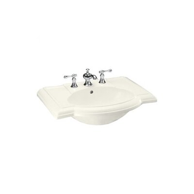 "Kohler Devonshire Bathroom Sink in Biscuit with 4"" Centers"