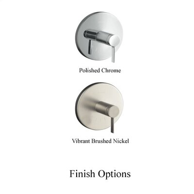 Kohler Stillness Thermostatic Valve Trim