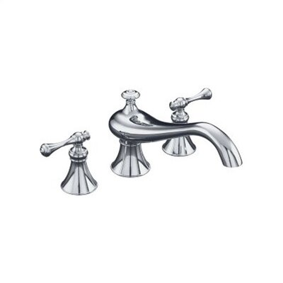 Kohler Revival Double Handle Deck Mount Tub Only Faucet Trim Traditional Handle