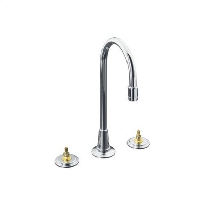 Taboret Entertainment Two Handle Widespread Kitchen Sink Faucet with Handle Options