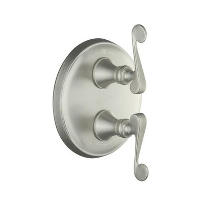 Kohler Revival Stacked Valve Trim with Scroll Lever Handles, Valve Not Included