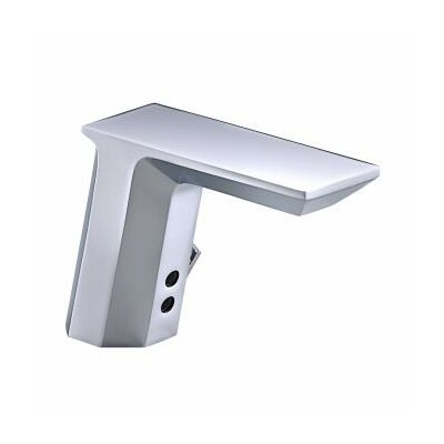 Kohler Geometric Touchless Deck-Mount Faucet with Temperature Mixer