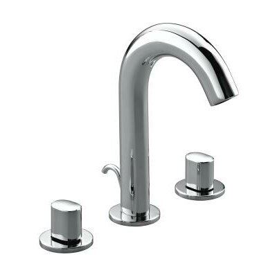 Kohler Oblo Widespread Bathroom Sink Faucet with Double Oval Handles