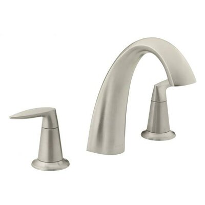 Kohler Alteo Double Handle Deck Mount Tub Only Faucet