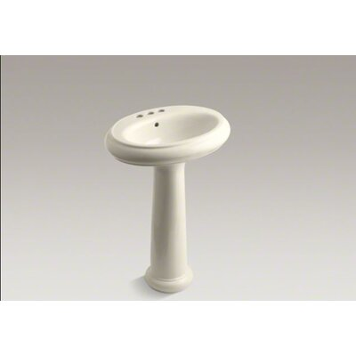 Kohler Revival Traditional Pedestal Bathroom Sink