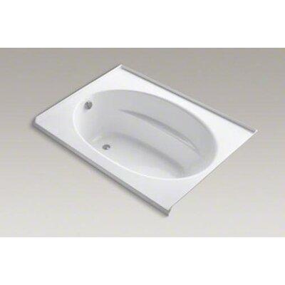 "Kohler Windward 60"" X 42"" Alcove Bubblemassage Bath with Three-Sided Integral Flange"
