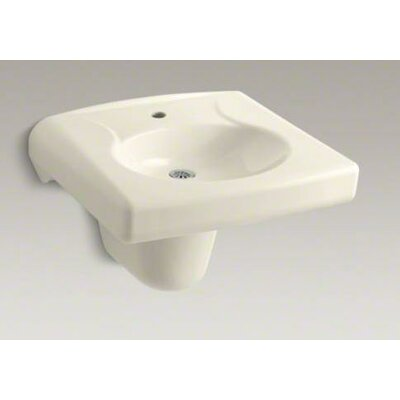 Brenham Wall-Mounted or Concealed Carrier Commercial Bathroom Sink and Shroud - K-1999-1