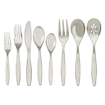Nambe Grace 43 Piece Flatware Set