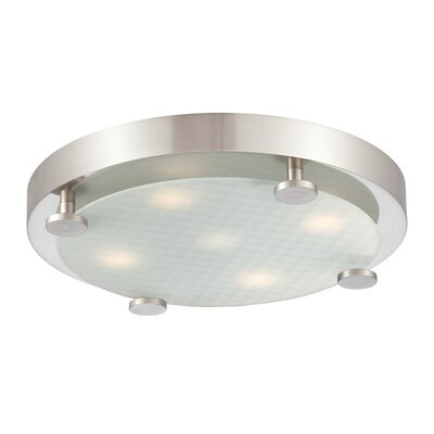 Philips Consumer Luminaire Flush 4 Light Ceiling Lamp