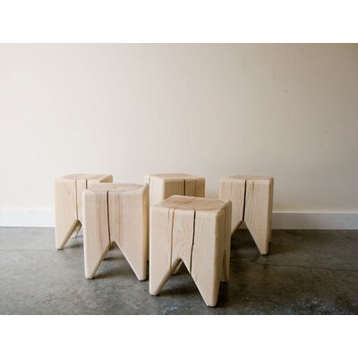 Kalon Studios Stump Solid Raw Wood Stool