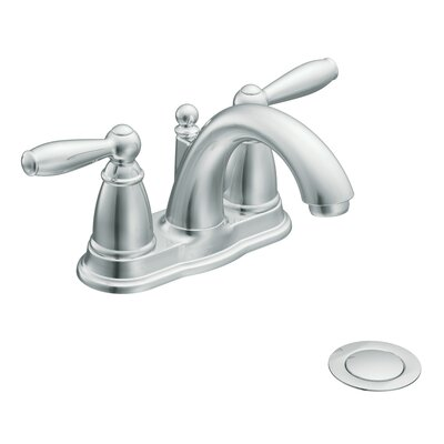 Moen Brantford Centerset Bathroom Faucet with Double Handles
