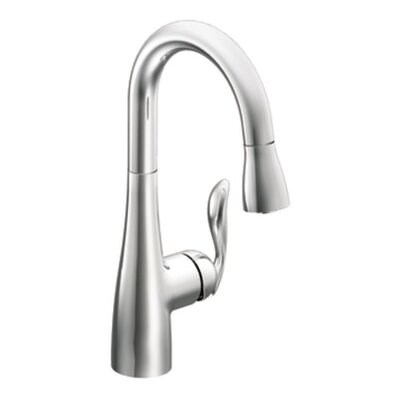Arbor One-Handle High Arc Pulldown Bar Faucet