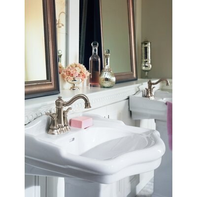 Vestige Two Handle Centerset High Arc Bathroom Faucet in Chrome - 6301