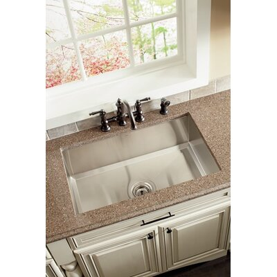 Moen Lancelot 12.25&quot; x 23.38&quot; Umtl-3018-10 Ps Single Bowl Undermount Sink