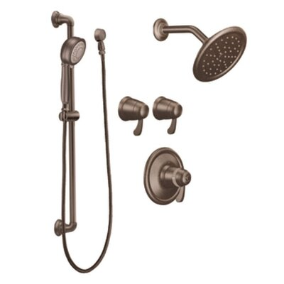 Moen Exacttemp Transfer Vertical Spa Set