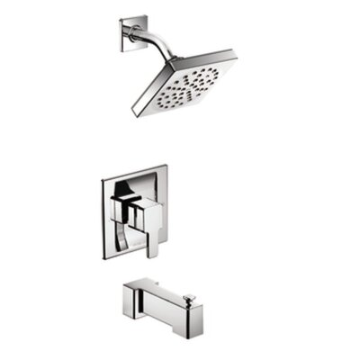 Moen 90 Degree Posi-Temp Pressure Balance Tub and Shower Faucet Trim