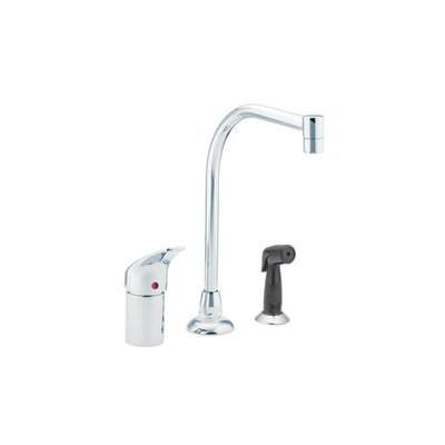 Moen Commercial One Handle Widespread Kitchen Faucet