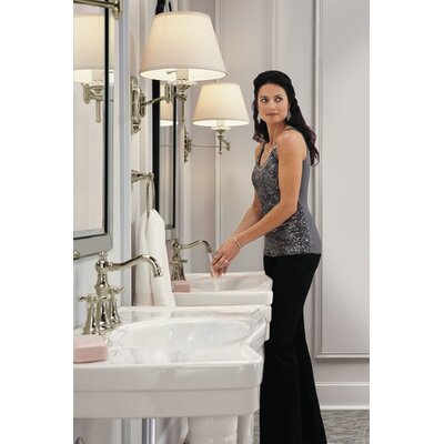 Moen Weymouth Double Handle Widespread Bathroom Faucet