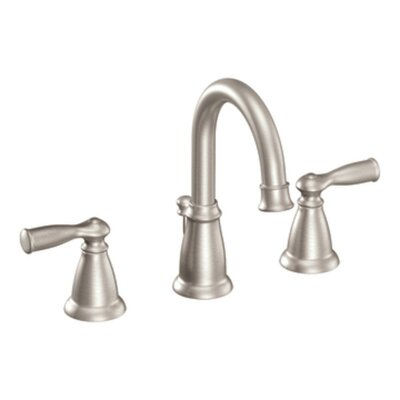 Moen Banbury Two Handle Widespread High Arc Bathroom Faucet