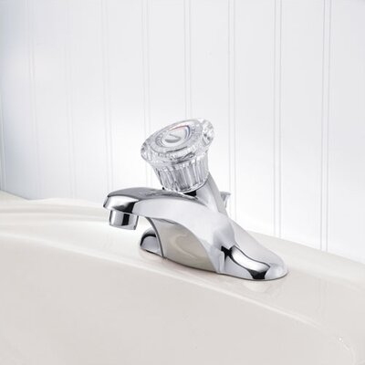 Moen Chateau Centerset Bathroom Faucet with Single Knob Handle
