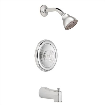 Moen Chateau Posi Temp Single Handle Tub and Shower Valve Trim
