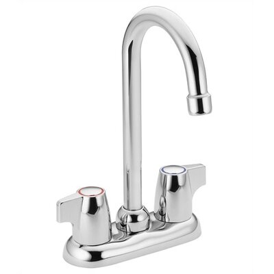 Moen Chateau Two-Handle Centerset Bar Faucet with Spout Swing