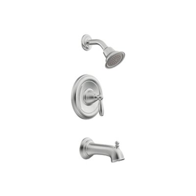 Moen Brantford ADA Compliant Posi-Temp Bulk Tub Spout with Shower