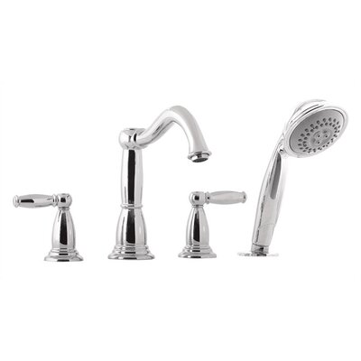 Hansgrohe Retroaktiv Tango Double Handle Deck Mount Roman Tub Faucet Trim Lever Handle